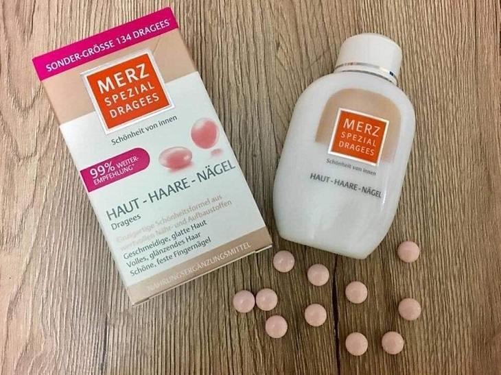Merz Spezial Dragees Haut-Haare-Nagel dùng được cho nhiều đối tượng
