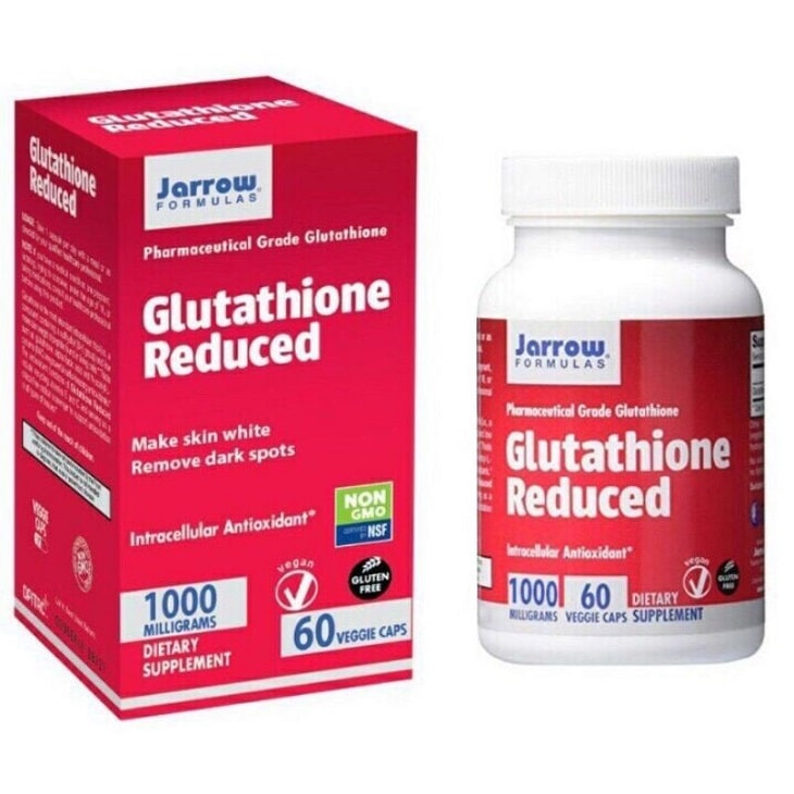 Jarrow Glutathione Reduced - an toàn cho mọi đối tượng