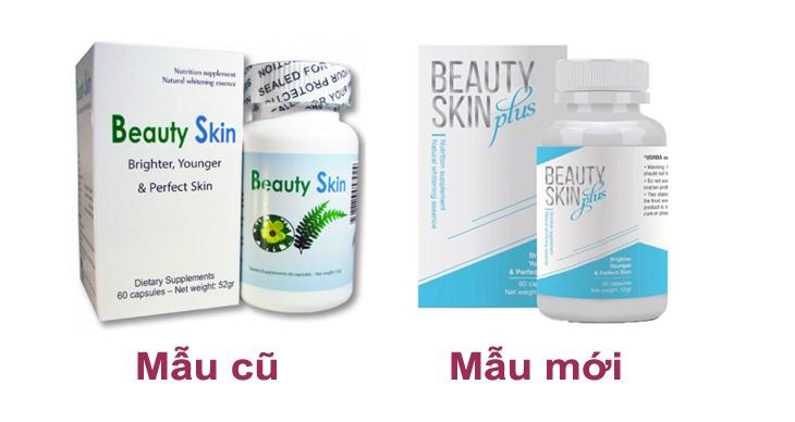Viên uống trắng da của Mỹ Beauty Skin