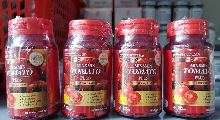 Tomato Plus Whitening Blink có thành phần cà chua tốt cho da