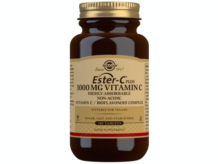 Viên uống Ester-C 500MG vitamin C Solgar được nhập khẩu từ Mỹ