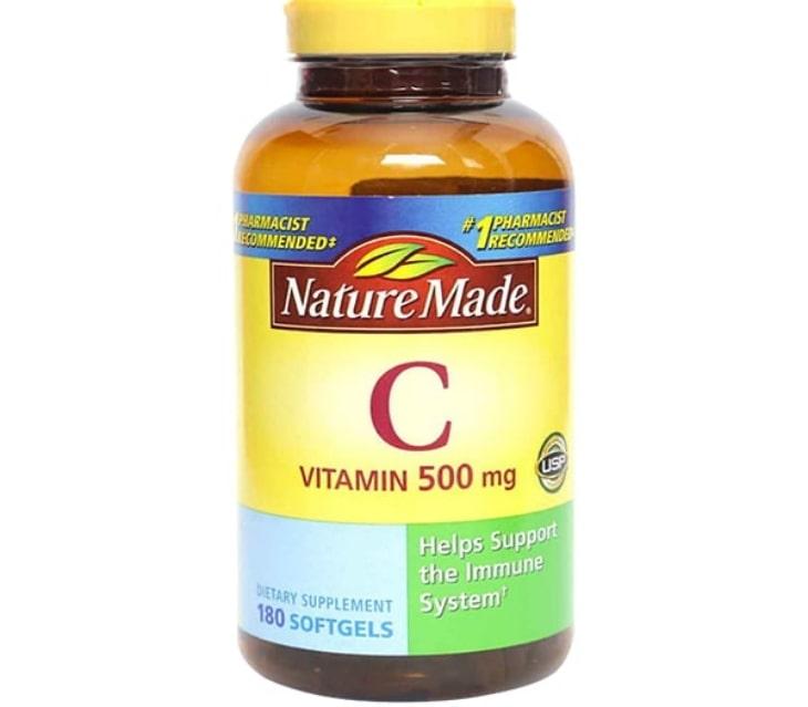 Viên uống vitamin C Nature made 1000mg của Mỹ