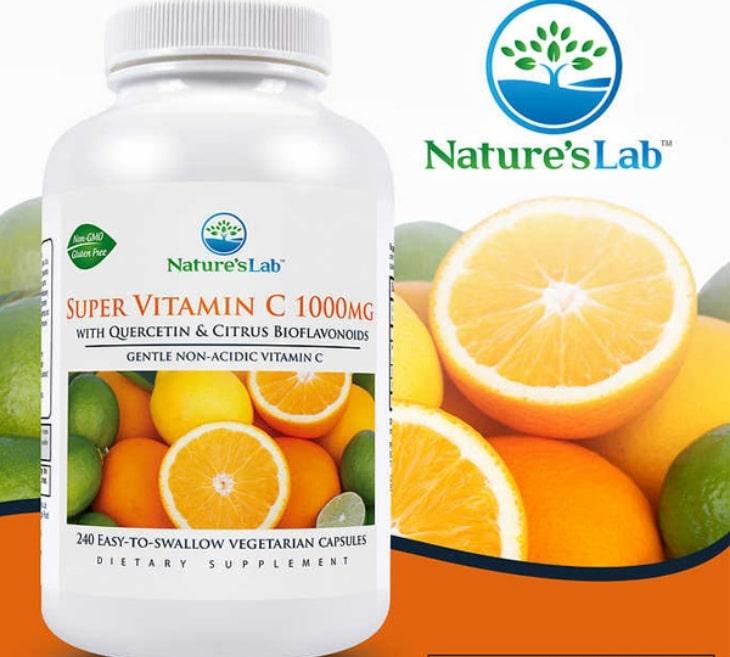 Viên uống bổ sung vitamin C Nature's Lab Super