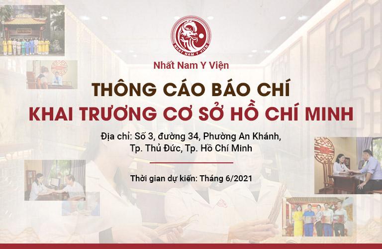 Nhất Nam Y Viện Khai Trương Cơ Sở Tại Hồ Chí Minh