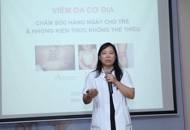 Bác sĩ Phạm Thị Lan chia sẻ về bệnh da liễu - viêm da cơ địa ở trẻ em