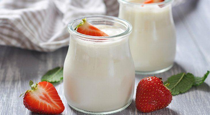Sữa chua lên men Probiotics rất tốt cho người bị nhiễm vi khuẩn Hp