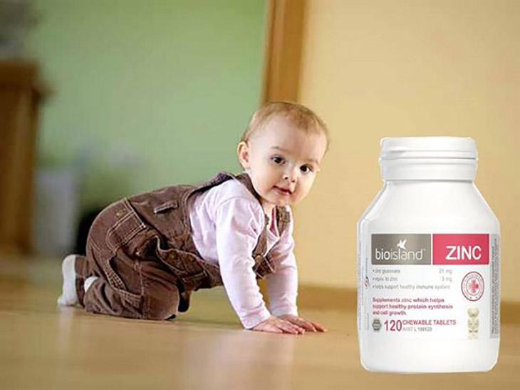 Viên uống Bio Island Zinc giúp bổ sung kẽm và các dưỡng chất thiết yếu dành cho trẻ nhỏ