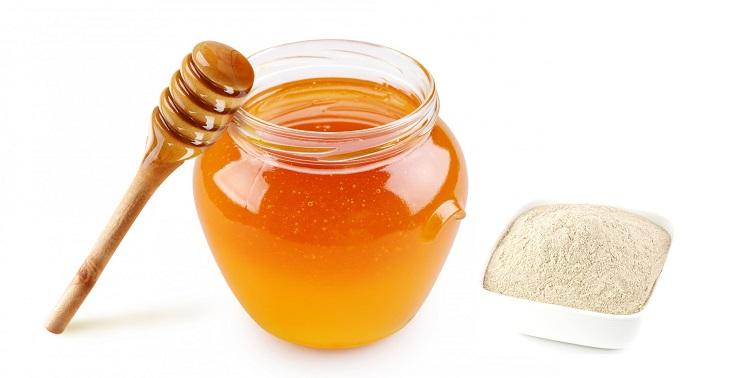 Kết hợp bột nghệ đen và mật ong cũng là cách chữa trào ngược dạ dày hiệu quả