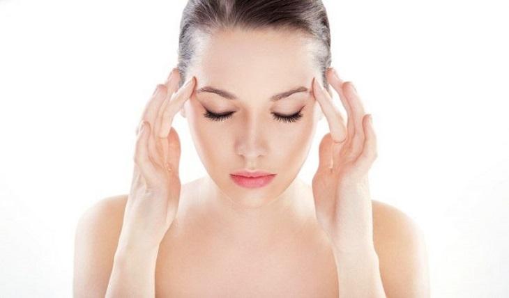 Các bài tập massage sẽ giúp bạn bớt đau đầu hai bên thái dương và thư giãn tinh thần
