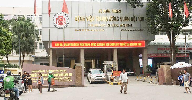 Bệnh viện Trung ương Quân đội 108 giúp chữa bệnh đau đầu