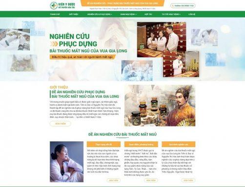 THÔNG BÁO: Ra mắt Website đề án nghiên cứu & phát triển bài thuốc chữa mất ngủ của Vua Gia Long