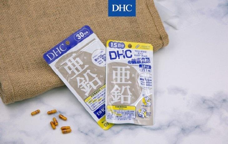 DHC Zinc là thực phẩm chức năng giúp làm đẹp da và tăng cường sức khỏe