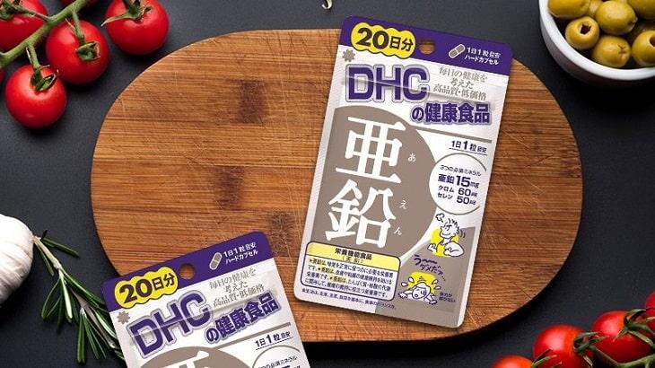 Viên uống DHC Zinc giúp đẹp da, chắc xương