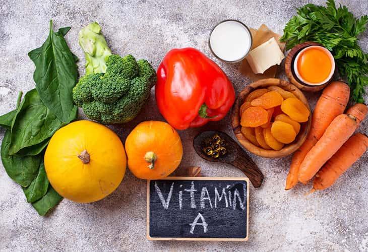 Thực phẩm giàu vitamin A có tác dụng bảo vệ niêm mạc dạ dày