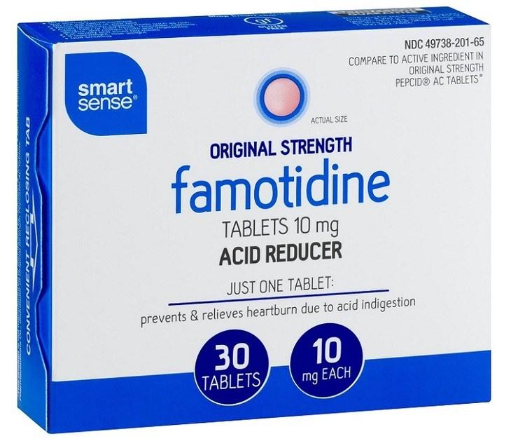Uống thuốc Famotidine đẩy lùi tình trạng bệnh