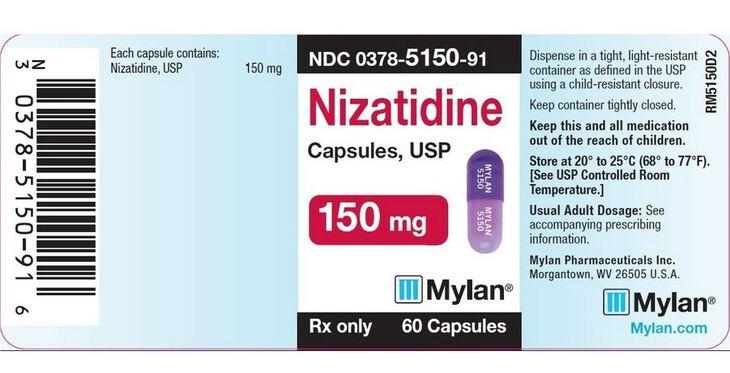 Thuốc Nizatidine được sử dụng cho người bị trào ngược