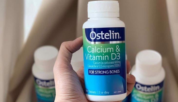 Viên uống cung cấp hàm lượng vitamin D3 và canxi lớn