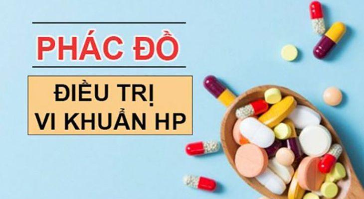 Phác đồ thuốc điều trị vi khuẩn Hp hầu hết đều là kháng sinh