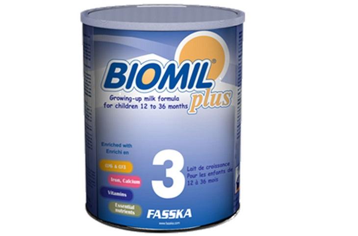Sữa Biomil số 3 - 800g giúp bé tăng cân và phát triển chiều cao tự nhiên