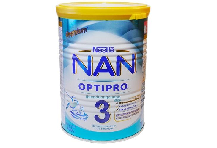 Sữa tăng cân cho bé 1 tuổi - NAN Optipro số 3