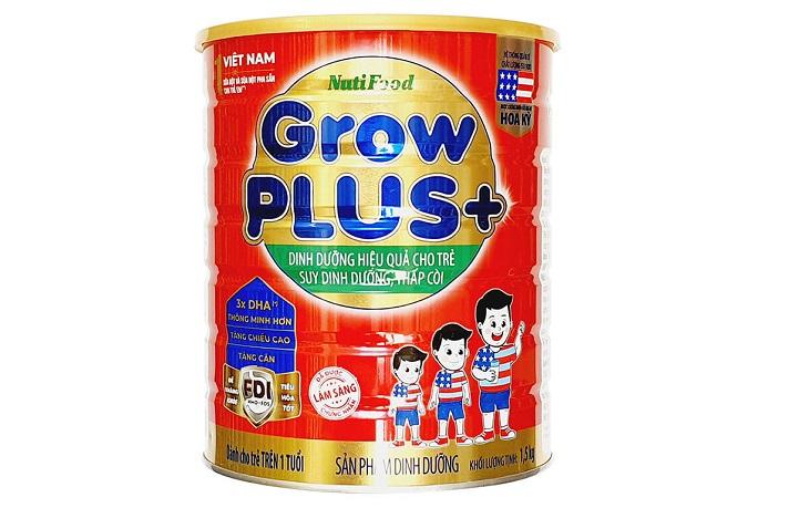 Sữa Grow Plus hộp đỏ tăng cân tự nhiên cho bé