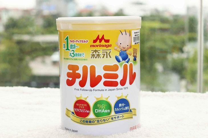 Sữa tăng cân cho bé 1 tuổi - Morinag số 9