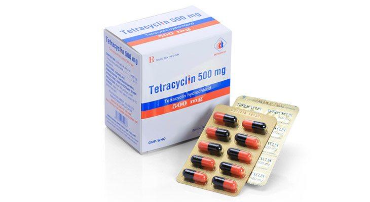 Tetracyclin được kê đơn phối hợp cùng các loại kháng sinh tiêu diệt vi khuẩn Hp