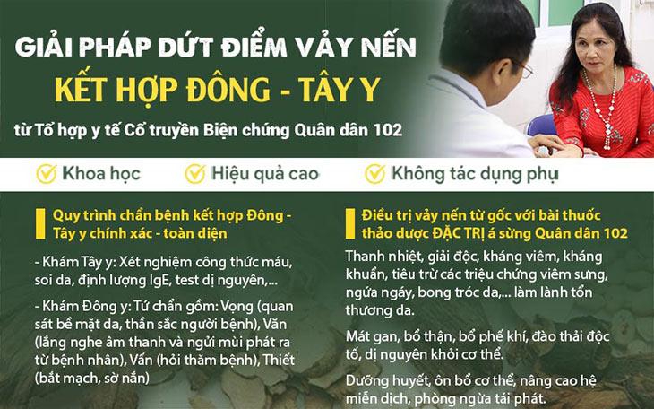 Phương pháp Đông y có biện chứng ứng dụng tại Quân dân 102