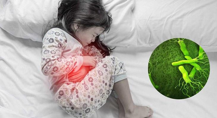 Vi khuẩn HP gây ra các bệnh tiêu hóa ở trẻ em