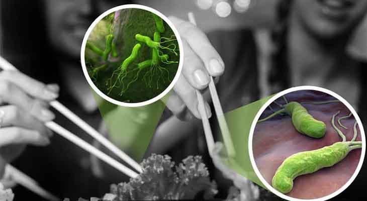 Ăn uống hợp vệ sinh là một cách để phòng nhiễm khuẩn hp