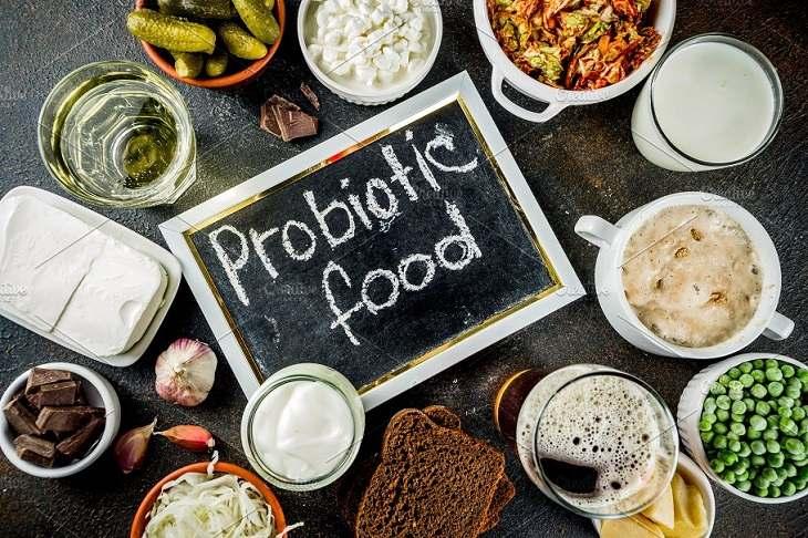 Trong sữa chua có chứa probiotics rất tốt cho hệ tiêu hóa
