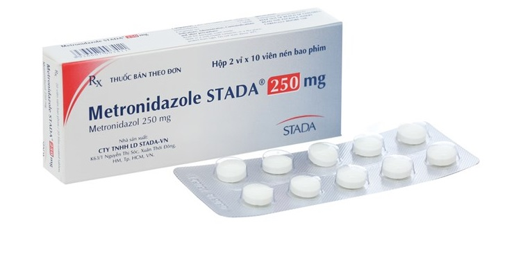 Thuốc Metronidazole thuyên giảm triệu chứng viêm hang vị dạ dày