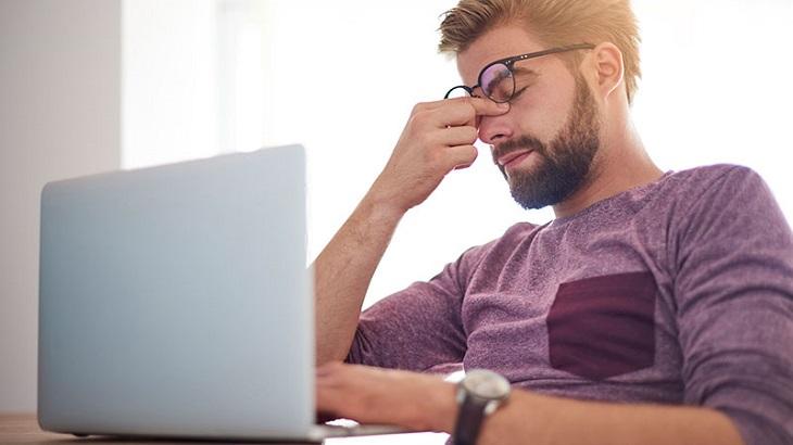 Stress, căng thẳng kéo dài cũng là nguyên nhân gây bệnh