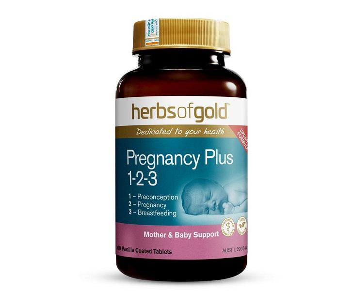 Úc Herbs Of Gold Pregnancy Plus được chế xuất hoan hoàn từ tự nhiên, đảm bảo tính an toàn cao