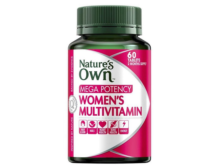 Nature's Own Mega Potency Women's Multivitamin được đánh giá cao về hàm lượng các chất dinh dưỡng