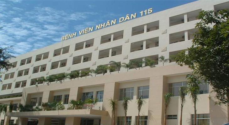 Bệnh viện Nhân dân 115 có chất lượng khám chữa bệnh tốt, chi phí hợp lý