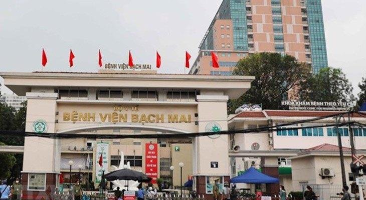 Bệnh viện Bạch Mai là một trong những bệnh viện hàng đầu phía Bắc