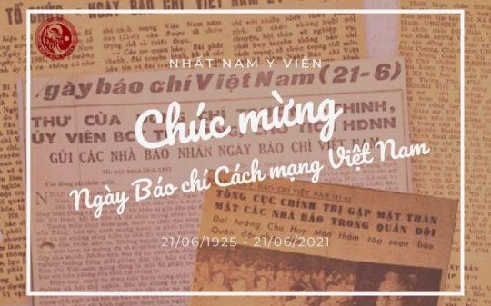 Chúc mừng Ngày Báo chí Cách mạng Việt Nam