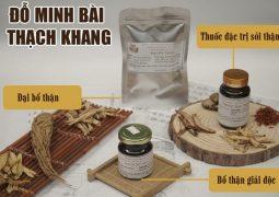 Bài thuốc Đỗ Minh Bài Thạch Khang chữa sỏi thận của nhà thuốc Đỗ Minh Đường