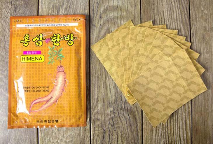 Cao dán hồng sâm Himena Hàn Quốc được bán chủ yếu dưới dạng hàng xách tay