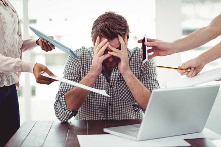 Căng thẳng, áp lực kéo dài cũng là nguyên nhân gây đau nửa đầu đằng sau