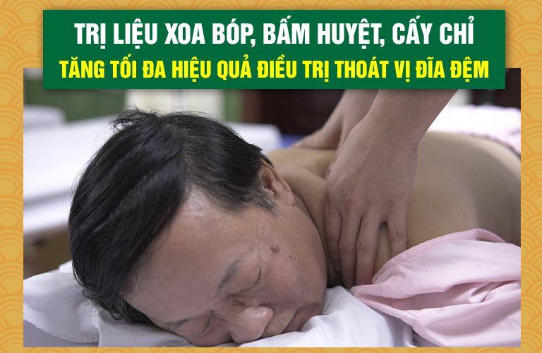 NS Phú Thăng trị liệu tại Đông phương Y pháp