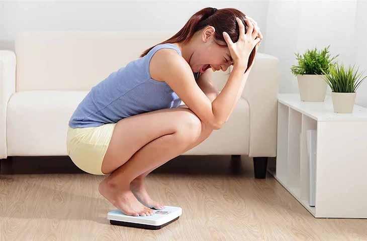 Sụt cân nhanh chóng là một trong số những biểu hiện dễ thấy của bệnh