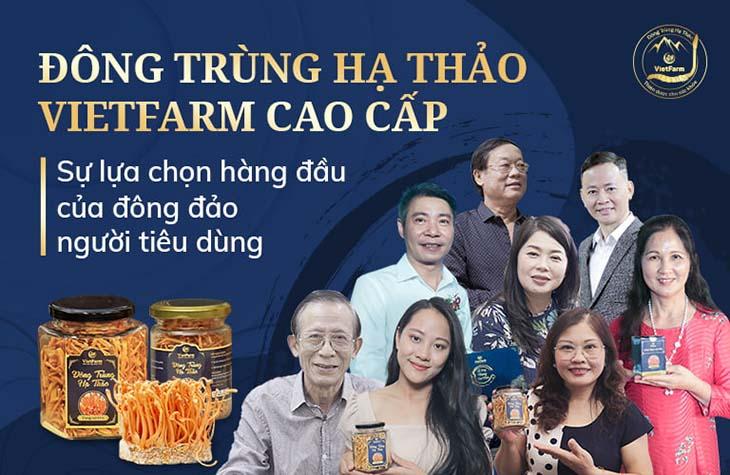 Đông đảo nghệ sĩ Việt tin tưởng sử dụng sản phẩm