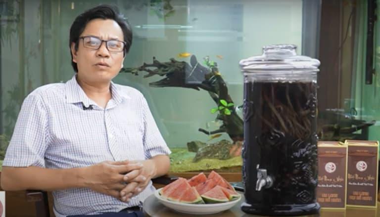 anh Nguyễn Văn Nam có chia sẻ về quá trình điều trị cùng bài thuốc Uy Long Đại Bổ