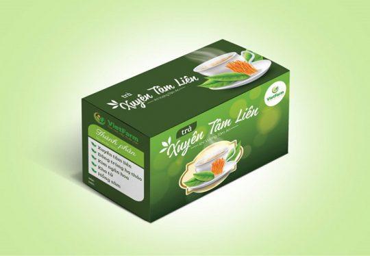 Sản phẩm trà xuyên tâm liên Vietfarm được nhiều người tìm mua hiện nay