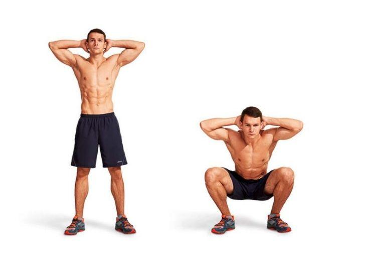 Squat thường xuyên kích thích sản sinh hormone nội tiết tố nam testosterone