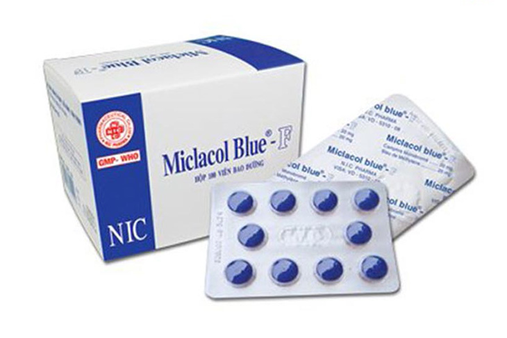 Micfaso Blue là thuốc thuộc nhóm thuốc sát khuẩn nhẹ