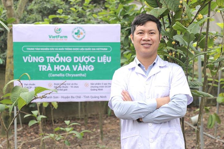 Vùng trồng trà hoa vàng của Trung tâm dược liệu Vietfarm đạt chuẩn GACP - WHO