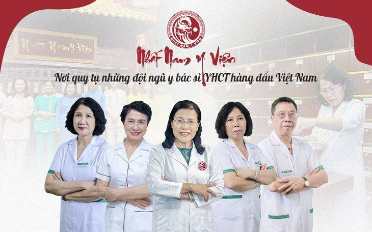 Đội ngũ y bác sĩ tại Nhất Nam Y Viện